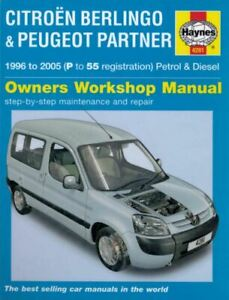 Peugeot Partner Citroen Berlingo 1996-2005 Workshop Manual Haynes - Download PDF