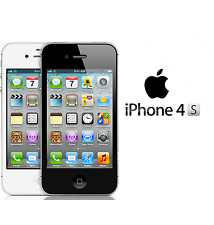 Apple iPhone 4s 8GB 16GB 32GB Factory Unlocked Sim Free Smartphone