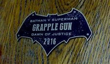 CUSTOM 2016 GRAPPLE GUN DISPLAY PLACARD BATMAN DAWN OF JUSTICE SUPERMAN