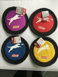 "COLEMAN 10"" FLYING DISC Dog Toy Frisbee NEW with Tag and FREE SHIPPING!"
