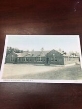 Traphill High School Postcard Traphill North Carolina Reproduced
