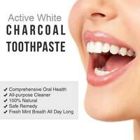 Dental Care Activated Bamboo Charcoal Cleaning Whitening Tooth Black Toothpaste