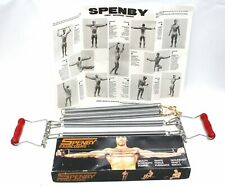 Vintage SPENBY EXERCISERS CHEST EXPANDER Collectable W/ Box + Instructions - S31