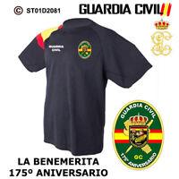 CAMISETAS TECNICAS: GUARDIA CIVIL - 175ª ANIVERSARIO 1844/2019 M2