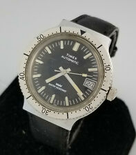 VINTAGE TIMEX AUTOMATIC DIVERS STYL MENS WRIST WATCH – ROTATING BEZEL