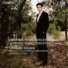 Nikolai Medtner : Medtner: Piano Concerto No. 3/Scriabin: Piano Concerto CD