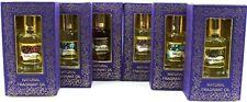 Honey Suckle 6 X 10 ml Bottles Song of India Natural Perfume/Burner Oil