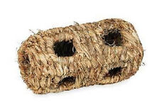PREVUE GRASS TUNNEL SMALL 10 HOLE CRITTER CARPET NEST BURROW. FREE SHIP TO USA