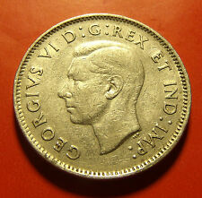 1938  Canada George VI Five Cents Fairly decent original details!