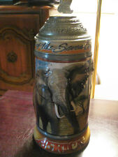 "1997  ANIMALS OF THE SEVEN CONTINENTS  LIDDED ""AFRICA"" STEIN"