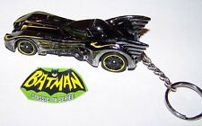 CUSTOM MADE..BATMOBILE MOVIE EDITION (MIRROR BLACK CHROME) KEYCHAIN..GREAT GIFT