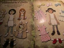 Kathy Mears Monier STELLA Paper Doll UNCUT