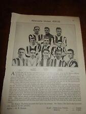 1931-32 Newcastle United Football club - FA Cup winners