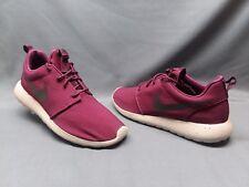 Nike Men's Roshe One SE Running Sneakers Mesh Bordeaux Pale Grey Size 11 NEW!