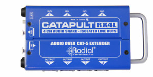Radial Catapult RX4L 4ch receiver, balanced outs  BEST OFFER R072