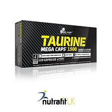 OLIMP TAURINE 1500 120 MEGA CAPS amino acids energy strength booster