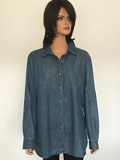 Style And Company Denim Women Shirt 16 XL Designer  Fashion Hip