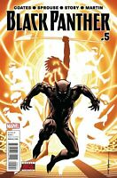 Black Panther #5 Marvel COMICS 1st Print COVER A COATES