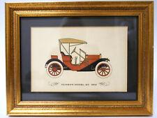 Vintage 1910 Hudson Model 20 Automobile Car Framed Art Print