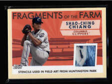 SHAO-CHING CHIANG 2019 TOPPS PRO DEBUT FRAGMENTS OF THE FARM FIELD ART AN1680