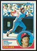 1983 Topps Mike Schmidt NM-MT OC Philadelphia Phillies #300