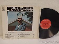 STONEWALL JACKSON The Old Country Church 1969 EX! PROMO LP Columbia CS 9754