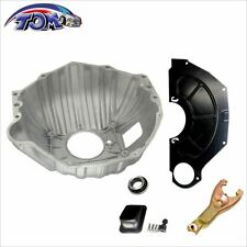 """Gm Chevy 11"""" Bellhousing Kit w/ Clutch Fork Inspection Cover Throwout Bearing"""