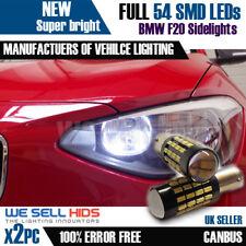 2X BAX9S H6W 57 SMD BMW serie F20 1 luci di posizione a lampadine canbus senza errori