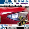 2X BAX9S H6W 57 SMD BMW F20 1 Series Sidelights canbus Bulbs Error Free
