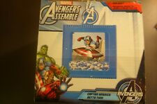 Marvel Comics Avengers Assemble Captain America Betta Fish Tank 0.6 Gallon