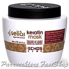 Keratin Mask Seliar ® 500ml EchosLine post-trattamento colorati e trattati pH4,5
