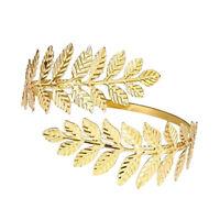 Women Arm Upper Arm Cuff Armband Armlet Bracelet Bangle-Spiral Leaf Branch