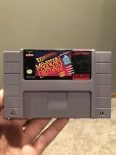 Exertainment Mountain Bike Rally SNES Super Nintendo Cartridge Only Life Fitness