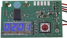 """Counter blue Digital-Zähler blau Revox PR99 ohne Nullunterdrückung, 7,6 mm, 0,3"""""""