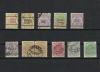 transvaal surcharge and cancels stamps ref 13656