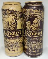 Set Empty Cans Of Beer Velkopopovicky KOZEL from Ukraine 2020 Limited Edition!