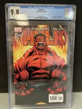HULK #1 CGC GRADED 9.8 WHITE PAGES 2008 1st appearance RED HULK 3692048010
