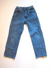 "Vtg Wrangler Light Blue Denim High Waist Jeans Women's Sz 16 Regular 28"" Waist"