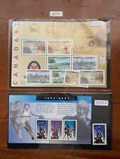 Canada 1991-1992 (Various Blocks,M/S,Sets,Singles) All MNH (473)