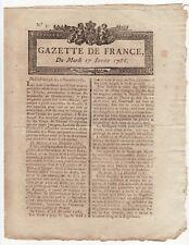 1786 jan.17, French Gazette, news from New-York, loan office certificates