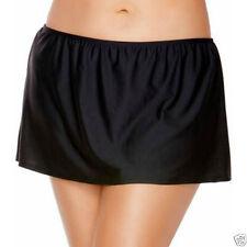 Catalina Women's Swim Skirt Skirted Swimsuit Bottom Black Size XL 16/18