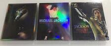 Michael Jackson LOT 3 Blu-Ray Bad Dangerous History tour China Rare