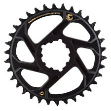 SRAM X-Sync 2 Eagle Chainring 34T DM 6mm Offset Black with Gold Logo BB30 or GXP