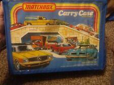 Vintage Lesney Matchbox Carry Case 1978 w/ 24 Retro All Matchbox Cars
