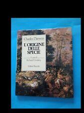 CHARLES DARWIN: L'ORIGINE DELLE SPECIE del 1982