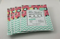 4x Huang Jisoo Dr Huang Beauty Lab Natural Red Fruits Brightening Mask