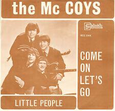 "McCOYS - Come On Let's Go (1966 VINYL SINGLE 7"" RARE DUTCH PS)"