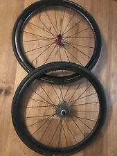 Knight composites 35 clincher carbon wheelset, Aivee hubs, Skewers & Bags