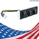 Fit For Jeep Wrangler TJ HVAC A/C + Heater Control with Blower Motor Switch