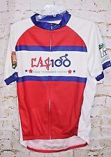 Primal Wear Mens XL Full Zip Cycling Jersey LBJ Ranch 100 1915 American LaFrance